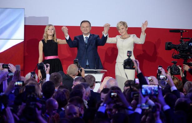 Andrzej Duda prezydentem