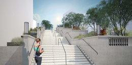 Tak będą wyglądały schody na Wildzie