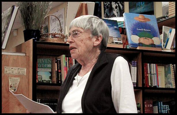 Ursula K. Le Guin (2008), fot. Gorthian / Wikimedia Commons, lic. cc-by-sa