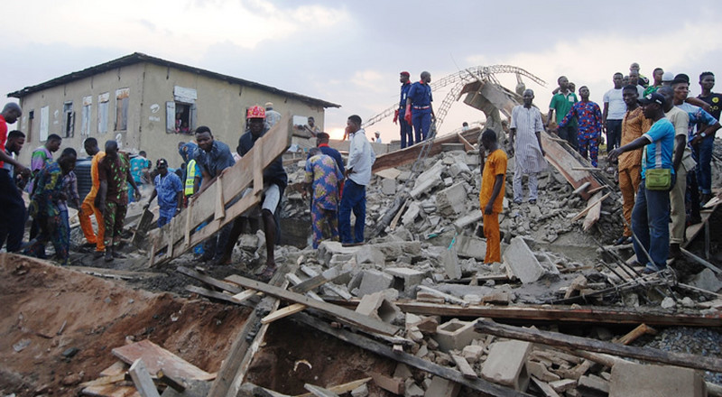 8 injured as another building collapse in Ibadan
