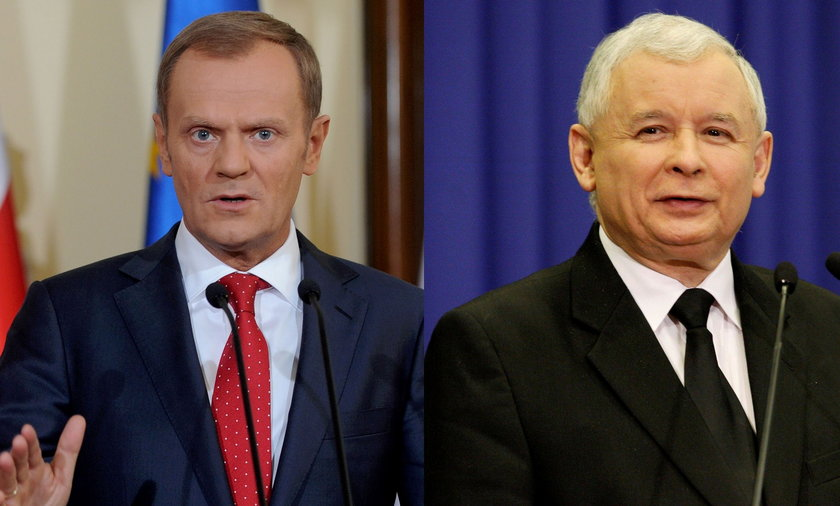Tusk i Kaczyński