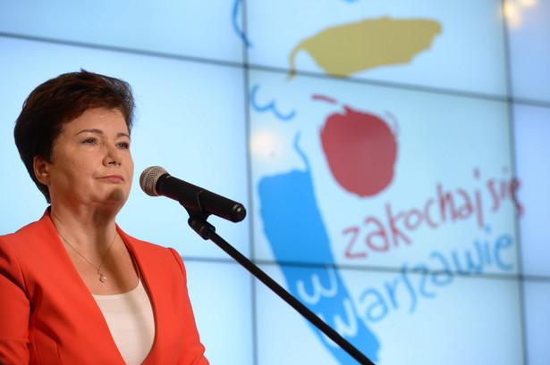 """""""Ja nigdy nie ingerowałam w procesy reprywatyzacji"""" - powiedziała Gronkiewicz-Waltz"""