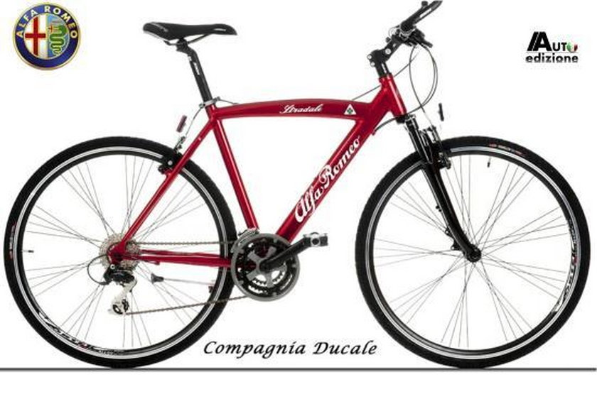 Rowery od Alfa Romeo