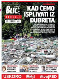 Naslovna 20.9. Blic