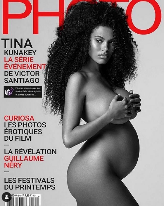 Tina Kunaki na naslovnoj strani magazina