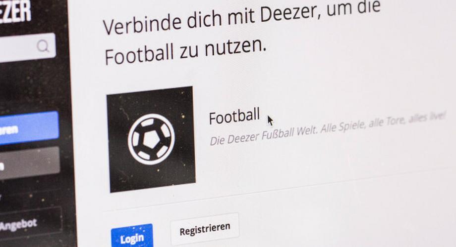 Spotify-Konkurrenz: Fußball-Livestream bei Deezer