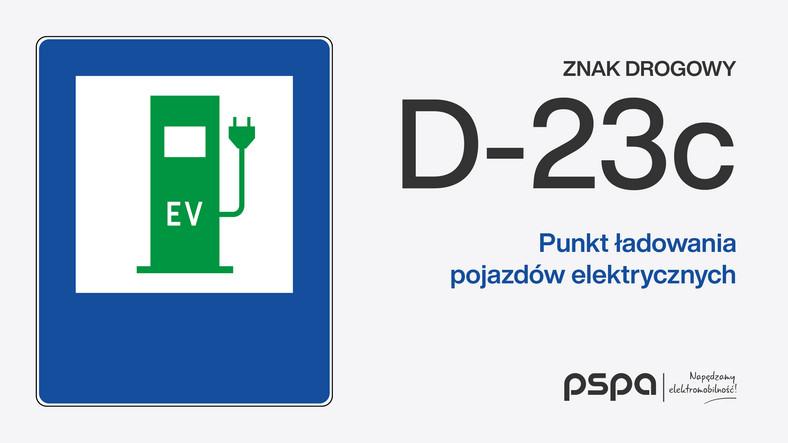 Nowe znaki drogowe dla kierowców samochodów elektrycznych