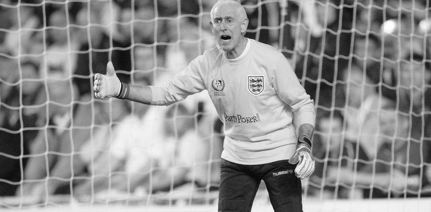 Nie żyje legenda angielskiej piłki Peter Bonetti. Mistrz świata z 1966 roku