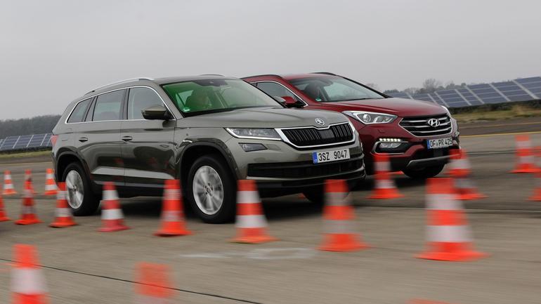 Skoda Kodiaq kontra Hyundai Santa Fe
