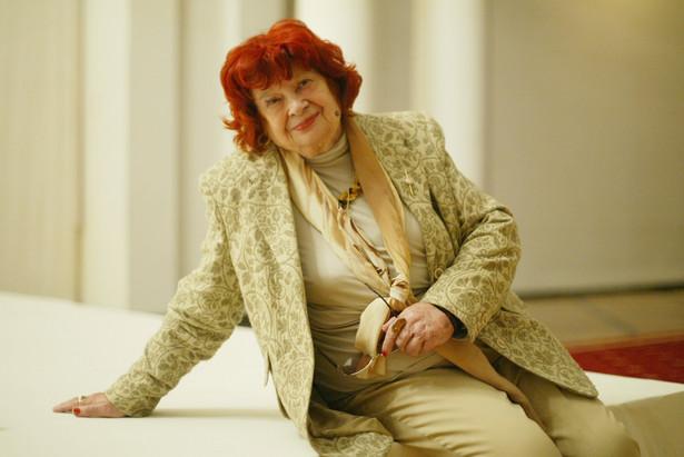 Śpiewaczka operowa Maria Fołtyn