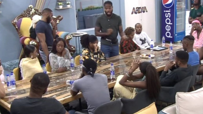 Housemates clashed over food this morning [Africa Magic]