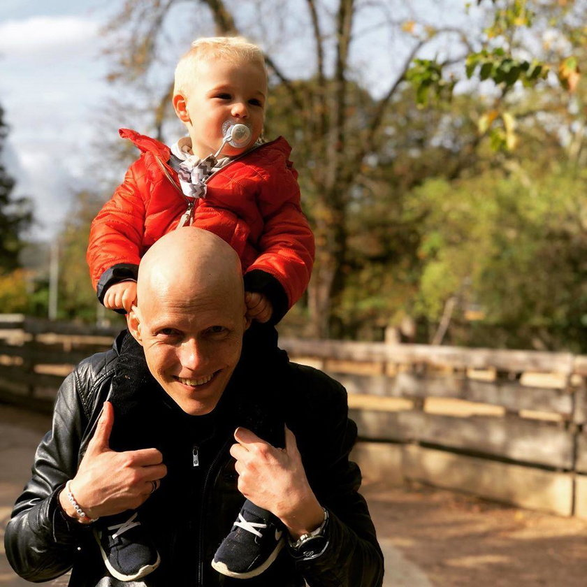 Bjoern Einar Romoeren z córką