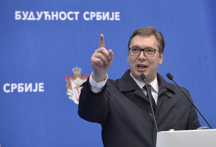 Aleksandar Vučić Tanjug Rade Prelić