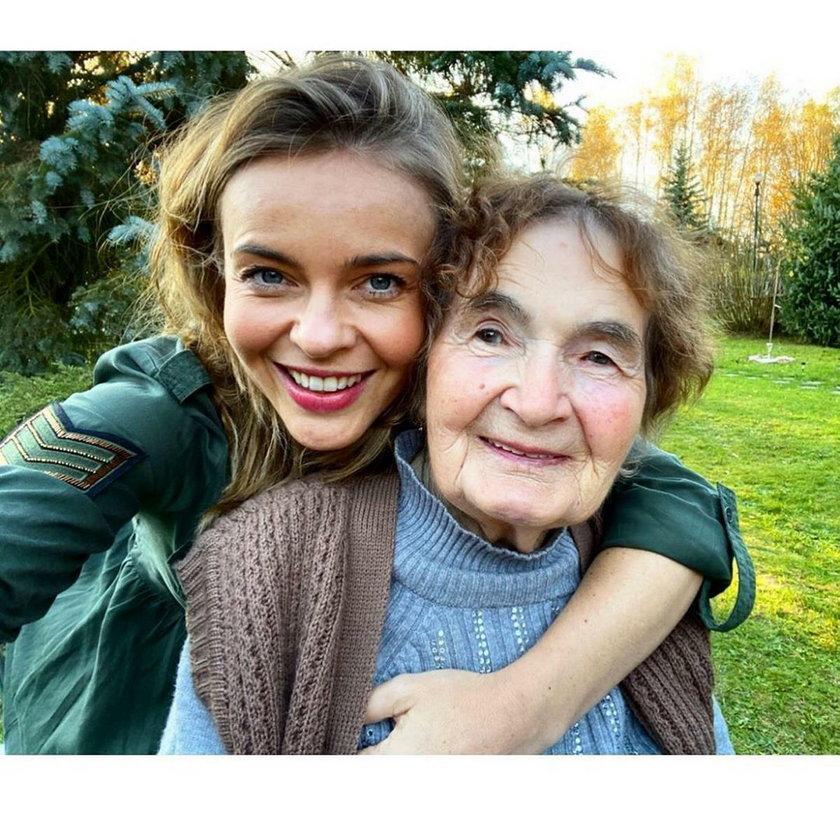Babcia jest najlepszą przyjaciółką Edyty Herbuś