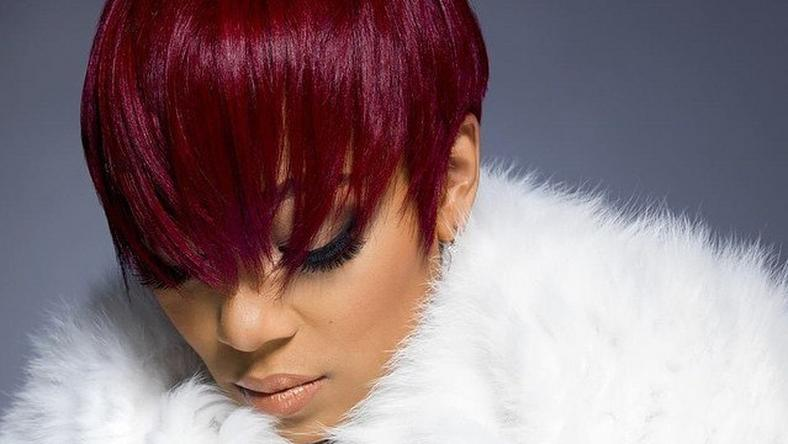 Monica Brown debuts red pixie cut