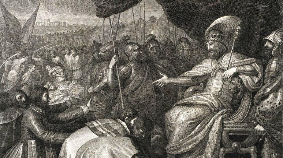 Mieszko II Lambert to drugi król w historii Polski - domena publiczna