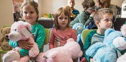 Artyści zaprojektowali misie dla chorych dzieci