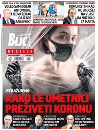 Naslovna za 9.8. Blic