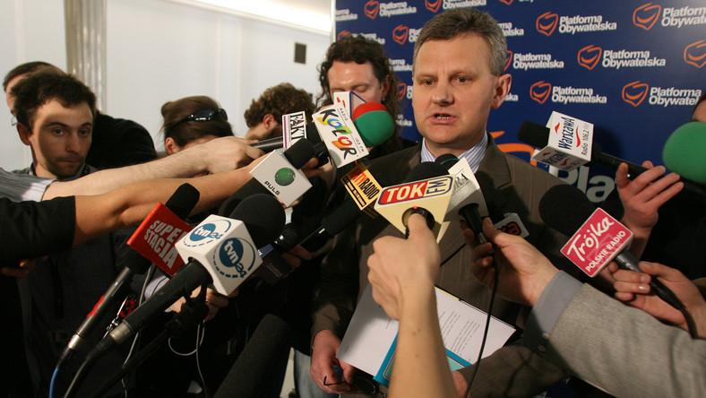 Minister skarbu Aleksander Grad nasłał kontrolę na TVP