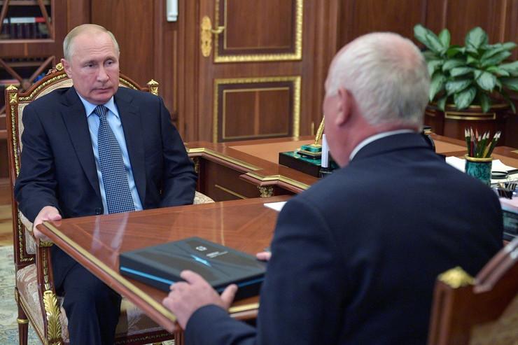 Sergen Čamezov Vladimir Putin