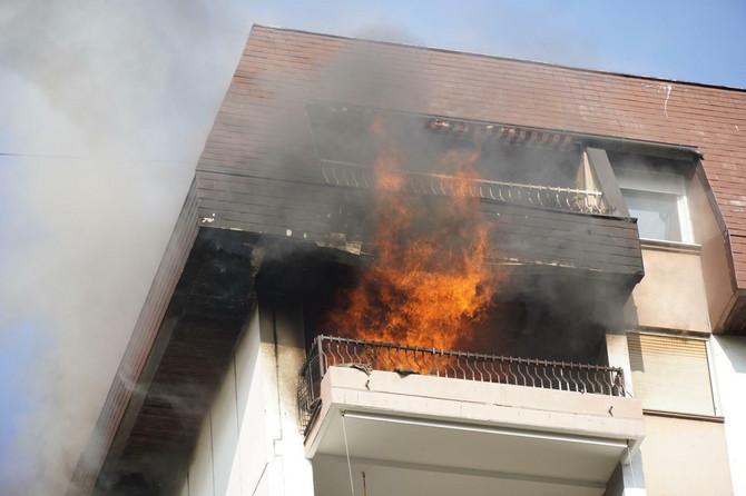 Požar na Dorćolu u kojem je mala Minja dobila opekotine