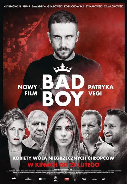 "Plakat filmu ""Bad Boy"""