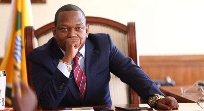 Impeached  Nairobi Governor Mike Sonko