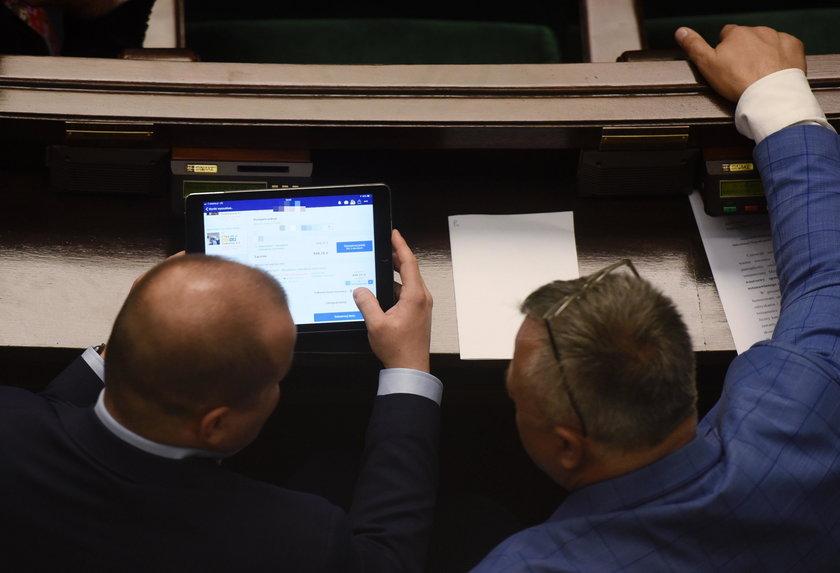 Głosowania w Sejmie