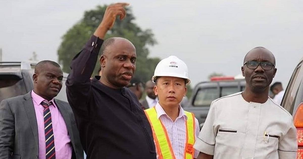Amaechi tasks CCECC to speed up work on Lagos-Ibadan Rail project - Pulse Nigeria