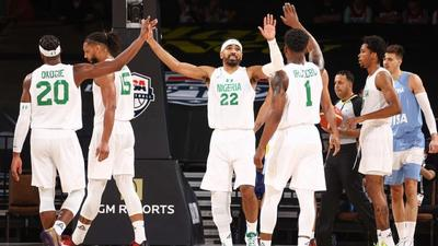 Argentina is the 4th best team in world basketball, but Nigeria's D'Tigers just beat them