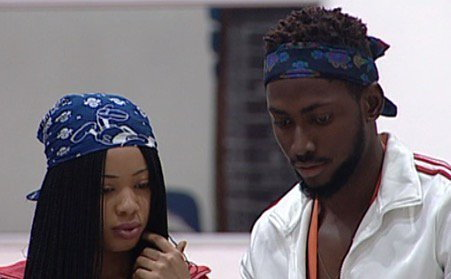 Miracle and Nina in the Big Brother Naija house