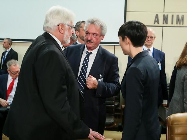 Witold Waszczykowski w Brukseli z szefem MSZ Luksemburga Jeanem Asselbornem i norweską minister Ine Marie Eriksen Soreide