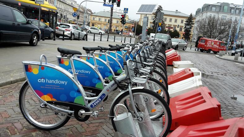 Rowery miejskie w Warszawie wypożyczano w tym roku już pięć mln razy