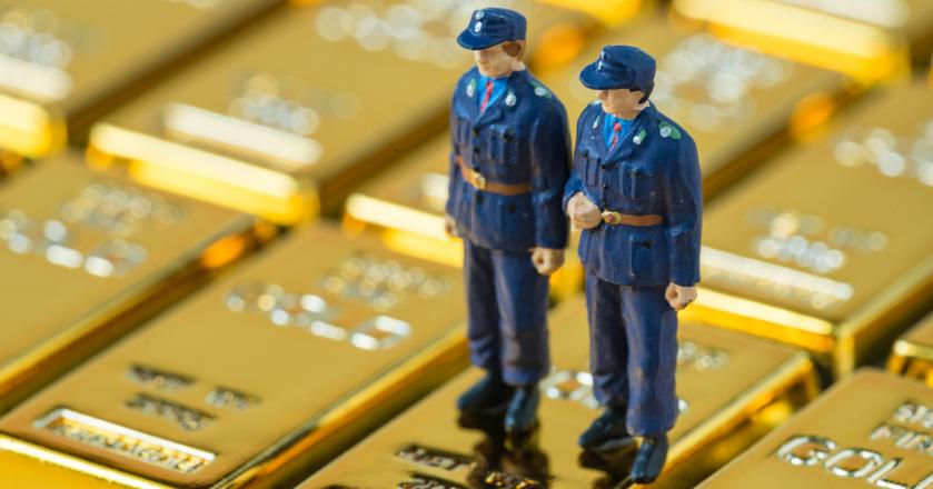 Podczas zimnej wojny Niemcy przechowywały poza granicami kraju niemal całą swoją rezerwę złota