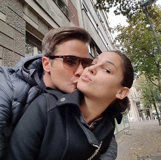Jana Milić Ilić sa suprugom