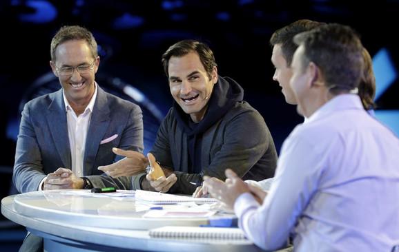 Rodžer Federer na žrebu za Australijan open