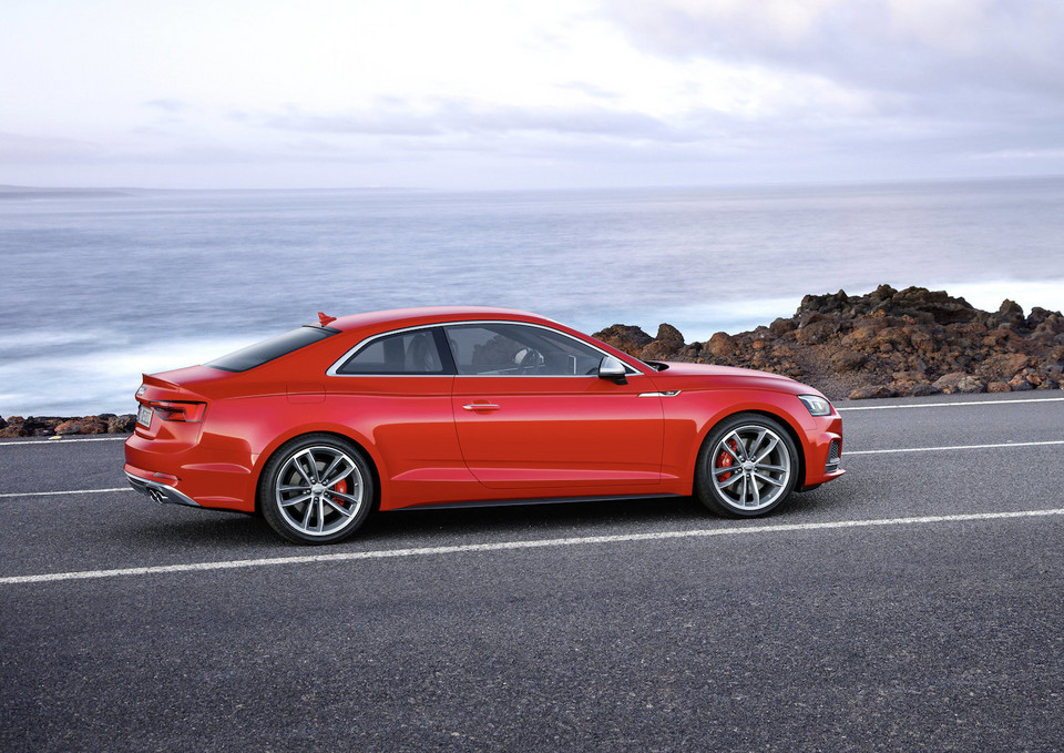 Nowe Audi S5 Coupe