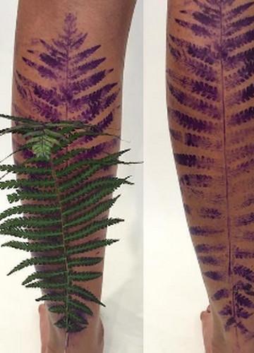 Tatuaże O Roślinnych Wzorach Które Wywołają Prawdziwy Efekt