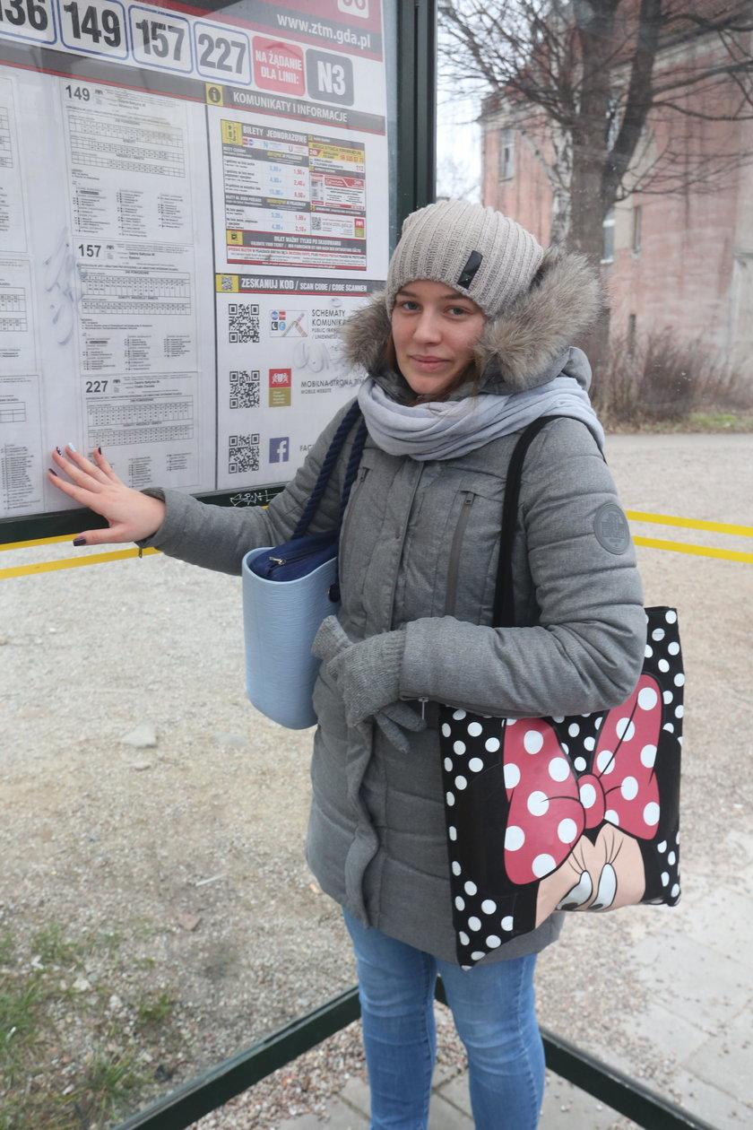 Maria Olszak (21 l.)
