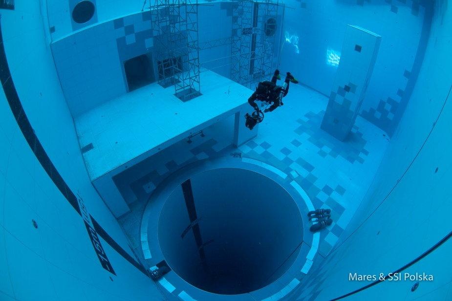 Deepspot - najgłębszy basen nurkowy na świecie w Mszczonowie