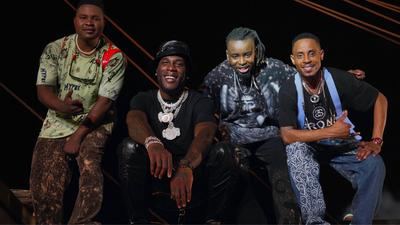 Burna Boy and Mozambiquean, DJ Tarico appears in new video for 'Yaba Buluku' alongside Preck and Nelson Tivane