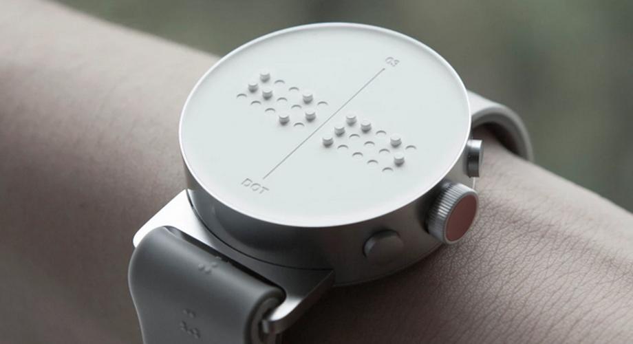 Dot Watch: Smartwatch für Blinde