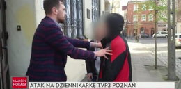 Atak na ekipę TVP. Grozili, że poderżną gardło