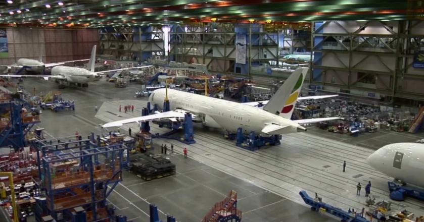 Tak powstaje jeden z największych samolotów na świecie