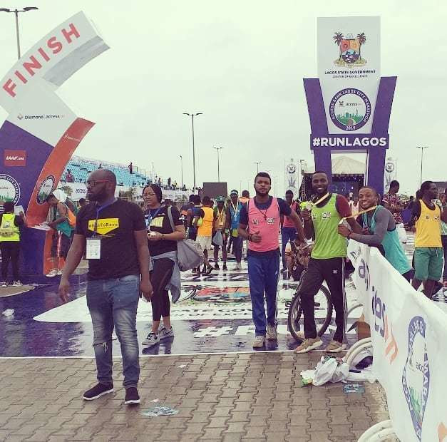 For Jackson Scott Chigbo, the Lagos City Marathon was a test of his mental strength more than the physical
