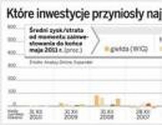 Które inwestycje przyniosły największe zyski