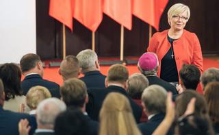 Julia Przyłębska o oświadczeniach 'Themis' i 'Iustitii': Jest mi przykro, że dożyłam czasów, w których sędzia zachowuje się politycznie