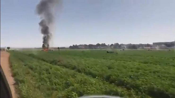 Srušio se vojni avion u Španiji