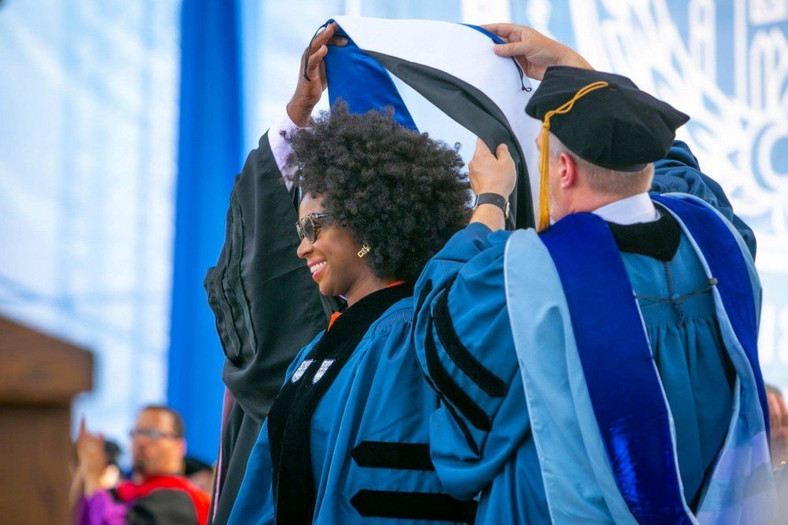 Chimamanda Adichie receives Duke University honorary degree