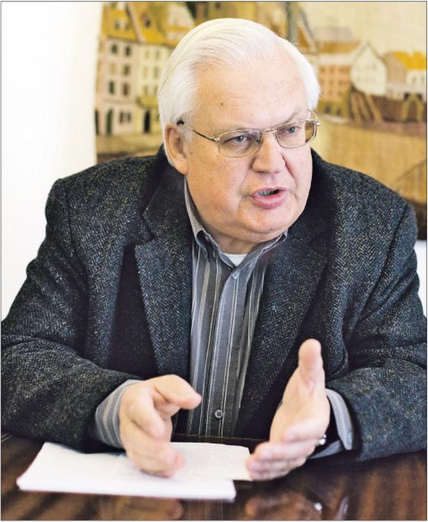 Jan Błeszyński, profesor na Wydziale Prawa i Administracji Uniwersytetu Warszawskiego, specjalista prawa autorskiego Fot. Marek Matusiak